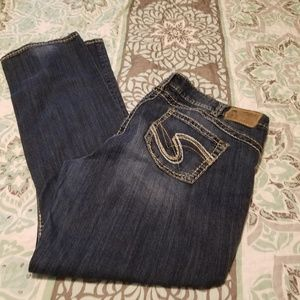 Silver brand Jean's size 20